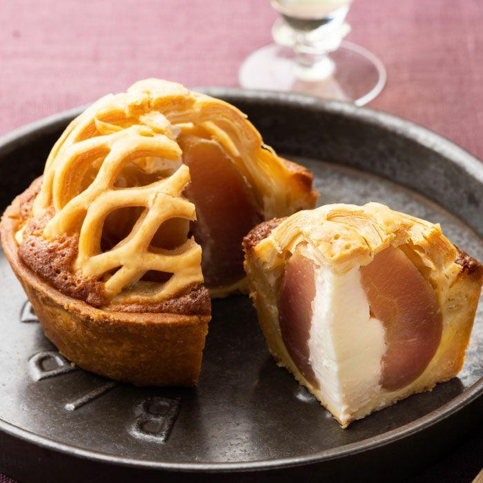 まるごとりんごチーズ風味パイ