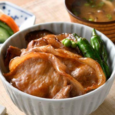 帯広『ぶたいち』豚丼の具